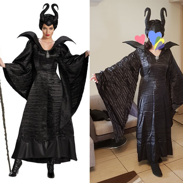 Women S Disney Maleficent Black Christening Gown Costume