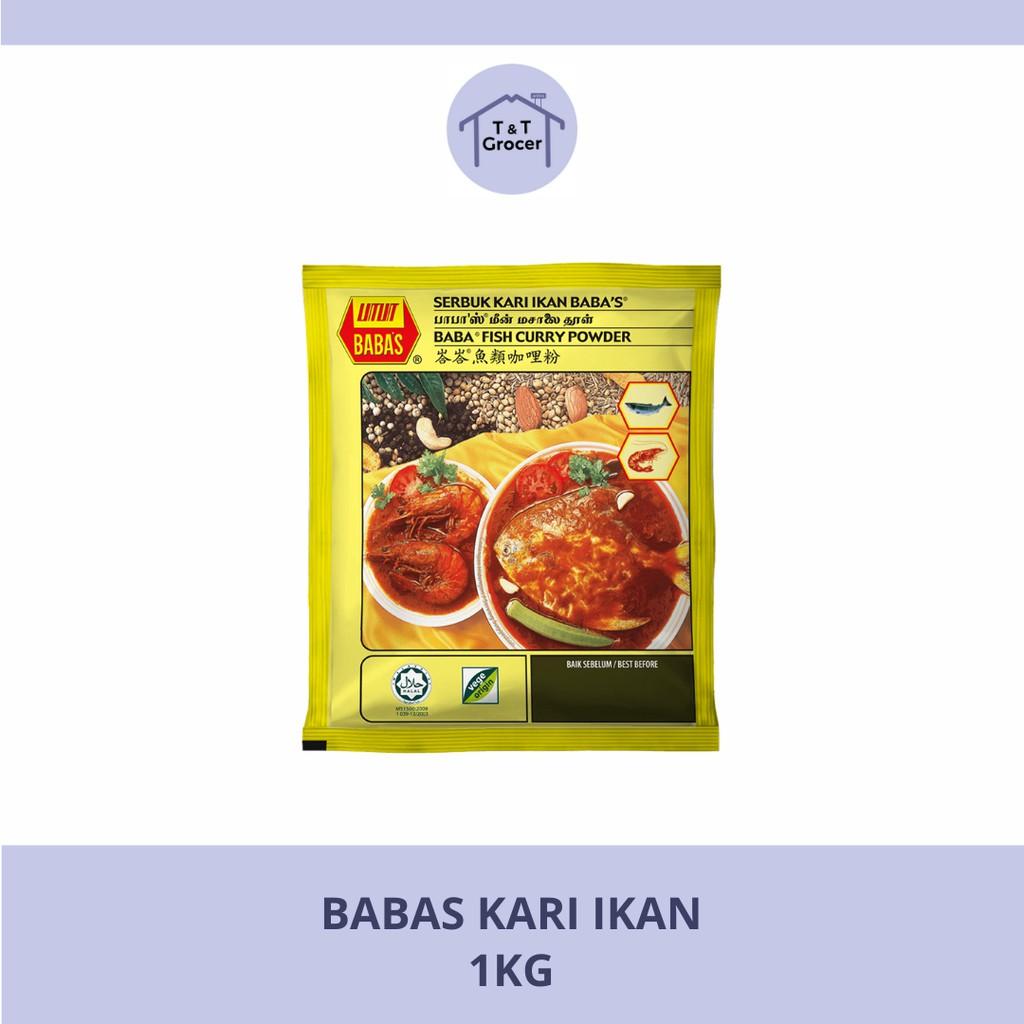 Babas Kari Ikan Powder 250g/ 1kg