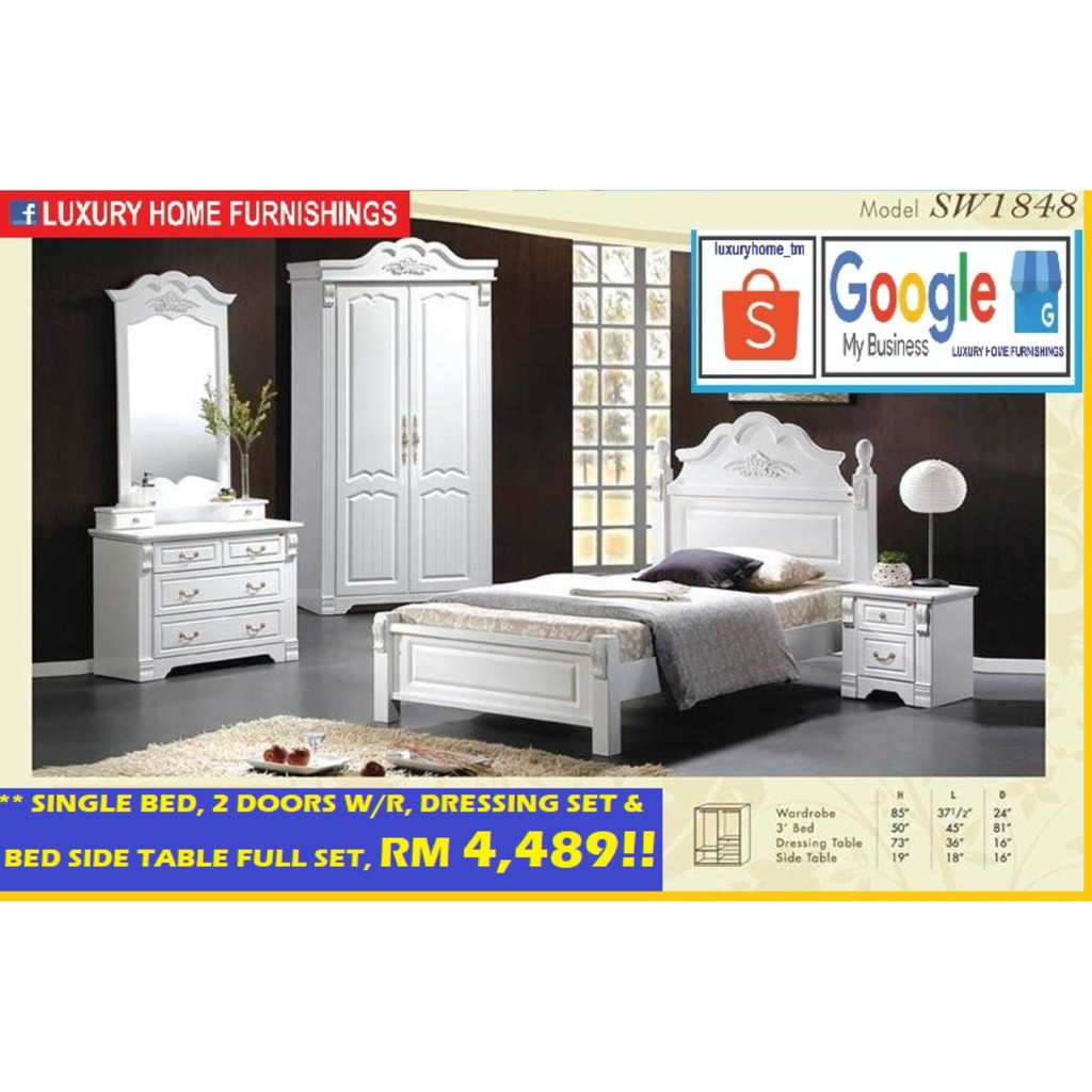 BED ROOM SET COLLECTIONS A