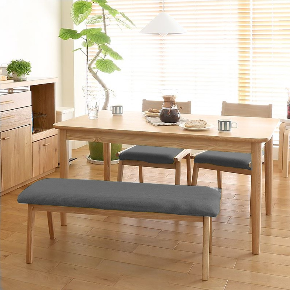 PRE ORDER Japanese Style Alma Solid Rubber Wood Dining ...
