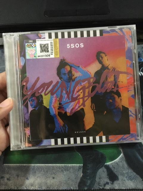 5SOS 5 Seconds Of Summer – Youngblood CD | Shopee Malaysia