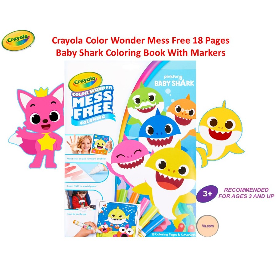 Lovely Coloring Book Baby Shark Coloring Pages - flower ...