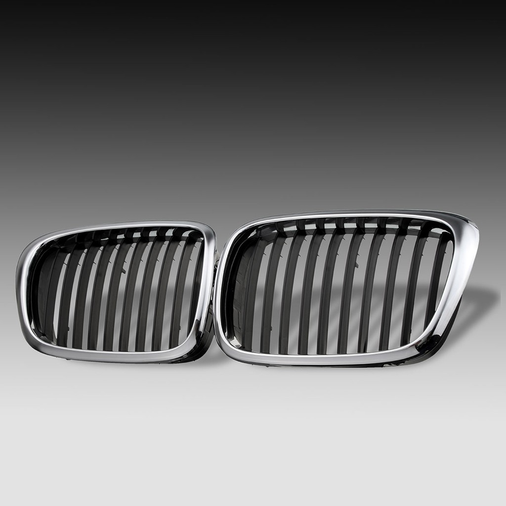 Car Chrome Front Grilles Grills For BMW E39