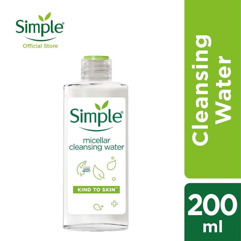 Simple Micellar Cleansing Water (200ml)