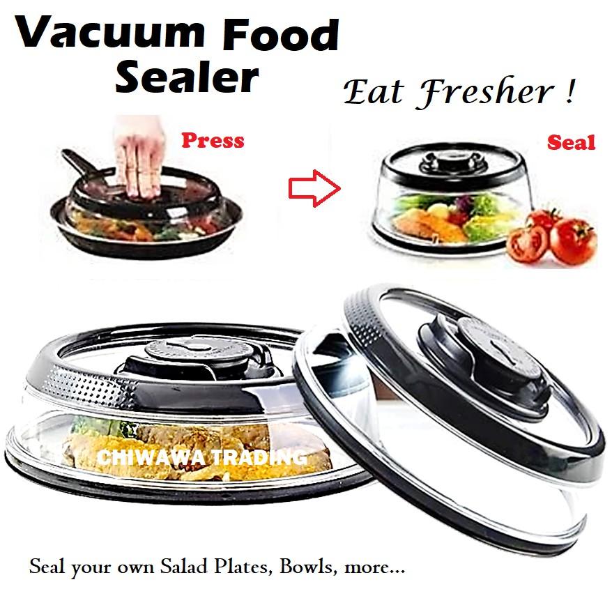 Press Dome Vacuum Food Sealer Pump Instant Food Fresh Keeping Lids Kitchen Preservation Cover
