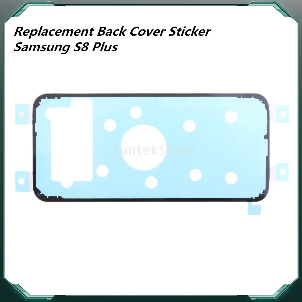 Samsung Galaxy S8 Plus Replacement Back Rear Cover Sticker Adhesive Glue  Tape
