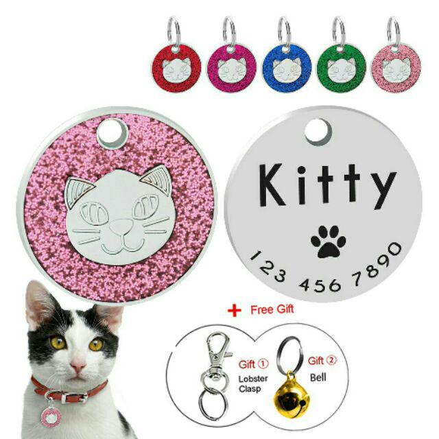 Tag Nama Rantai Kucing Tag Nama Kucing Rantai Kucing Shopee Malaysia