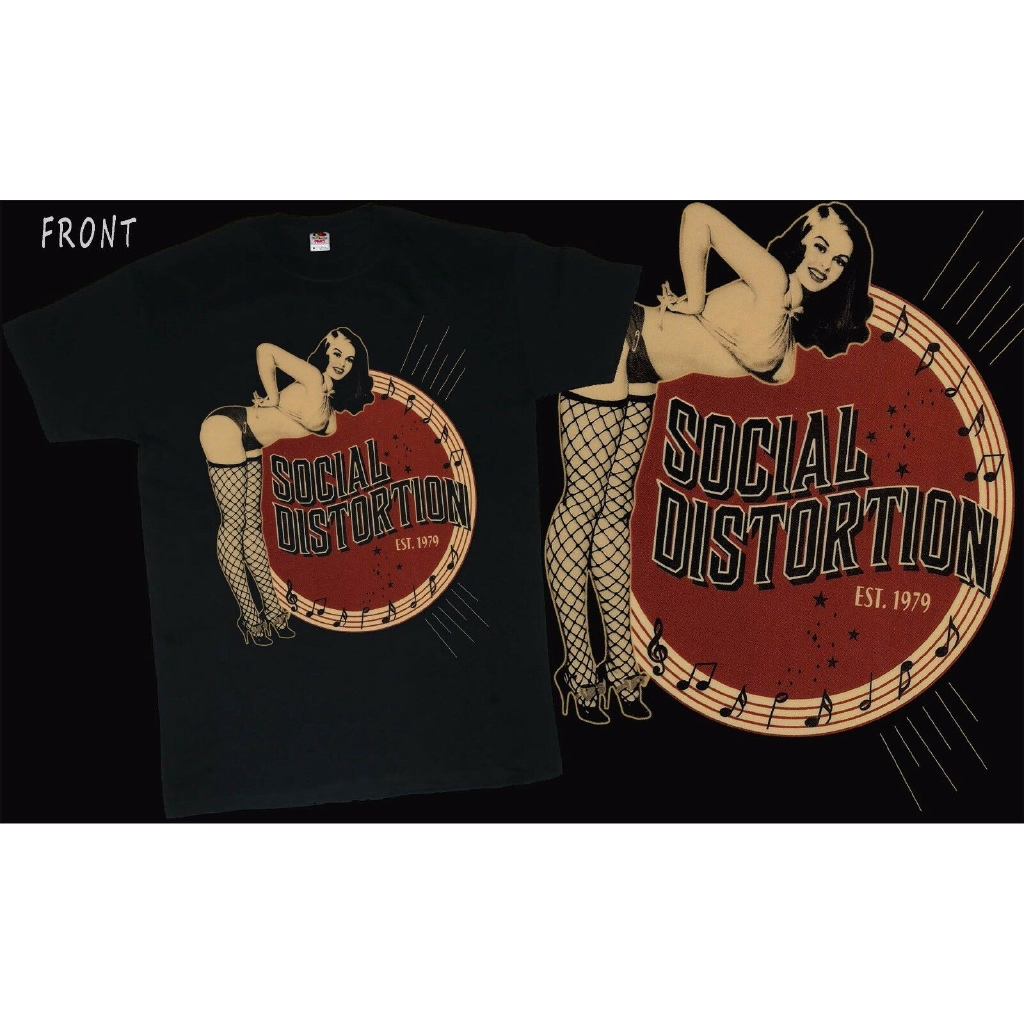 American punk rock band T/_shirt SIZES:S to 6XL Social Distortion