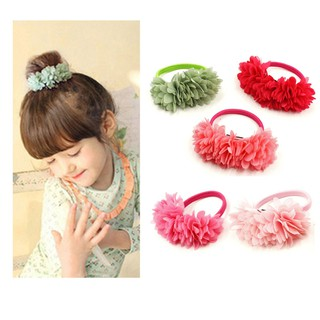 a89cc541736d8 Hot Sale 2018 New Cute Flowers Elastics Hair Holders Bands Gum ...