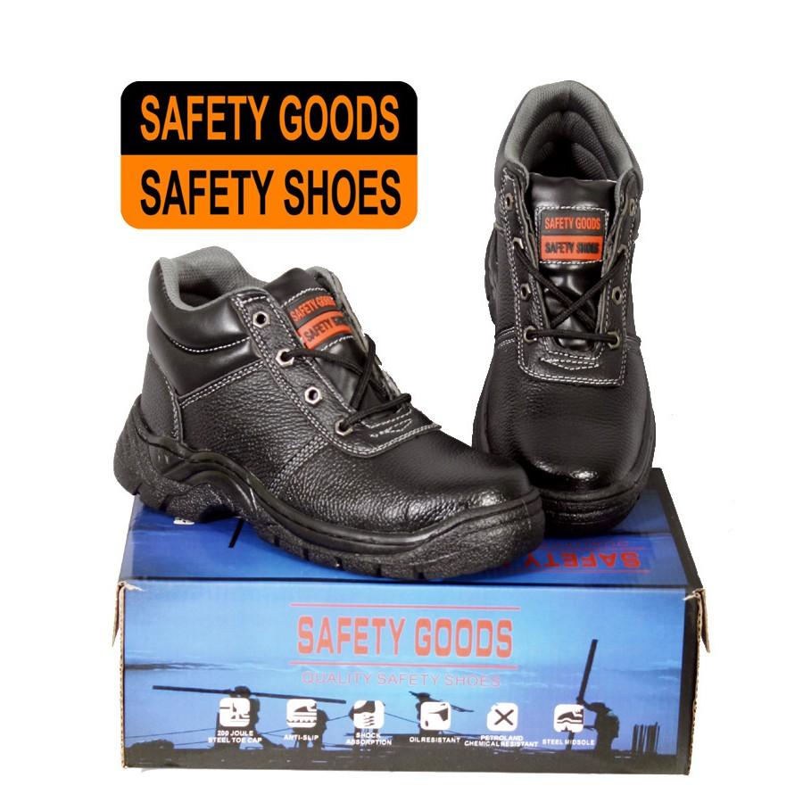 รองเท้าเซฟตี้ หุ้มข้อ รองเท้าหัวเหล็ก พื้นเสริมเหล็ก คุณภาพดี ราคาย่อมเยาว์ รองเท้า เซฟตี้ safety