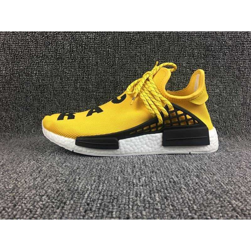 more photos 42866 93d93 Original Adidas PW HUMAN RACE NMD Men's and Women's Boost Running shoes  yellow