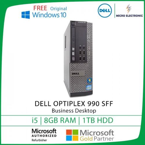Dell Optiplex 990 SFF Desktop Core i5 8GB 1TB HDD Windows 10 [Refurbished]