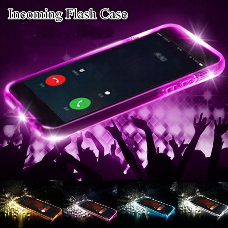 OPPO A37 Soft TPU LED Flash Light Up Remind Incoming Call Case
