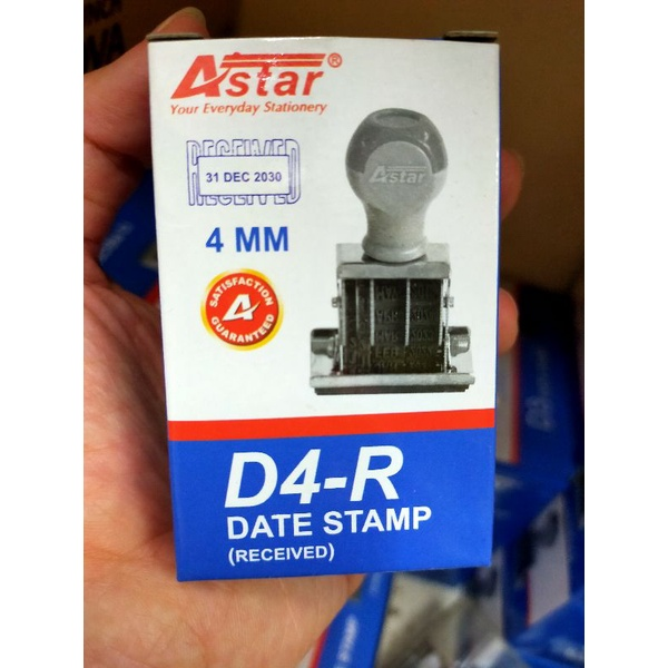 Astar Date Stamp (D3 , D4 , D5 )/ wt Paid , Received