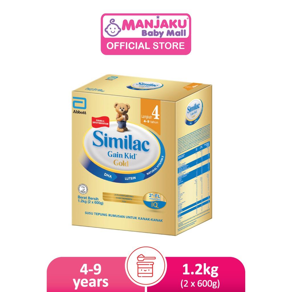 Similac Gain Kid Gold Step 4 Growing Up Milk Formula (1.2kg)
