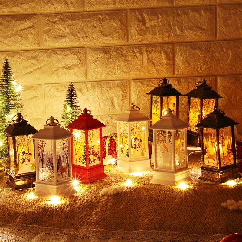 Home Decor Christmas Decoration Red Kerst Home Light Flame Light Led Light Shopee Malaysia