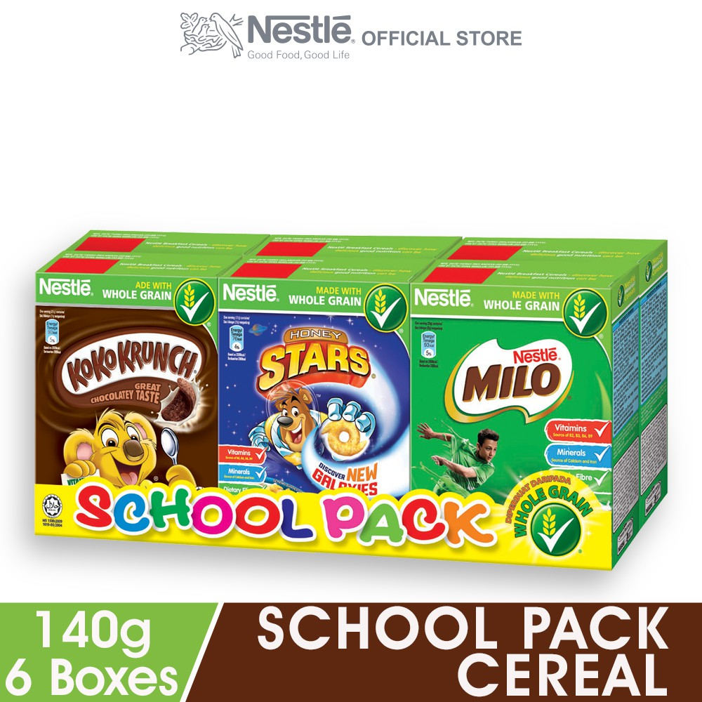 Nestle School Pack Cereal (25g X 6 Boxes)