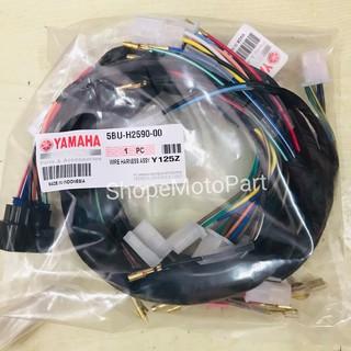 wire harness wiring set yamaha y125z 125z old 125zr y125zr yamaha rxz wiring manual riset cdi yamaha 125z cbu youtube