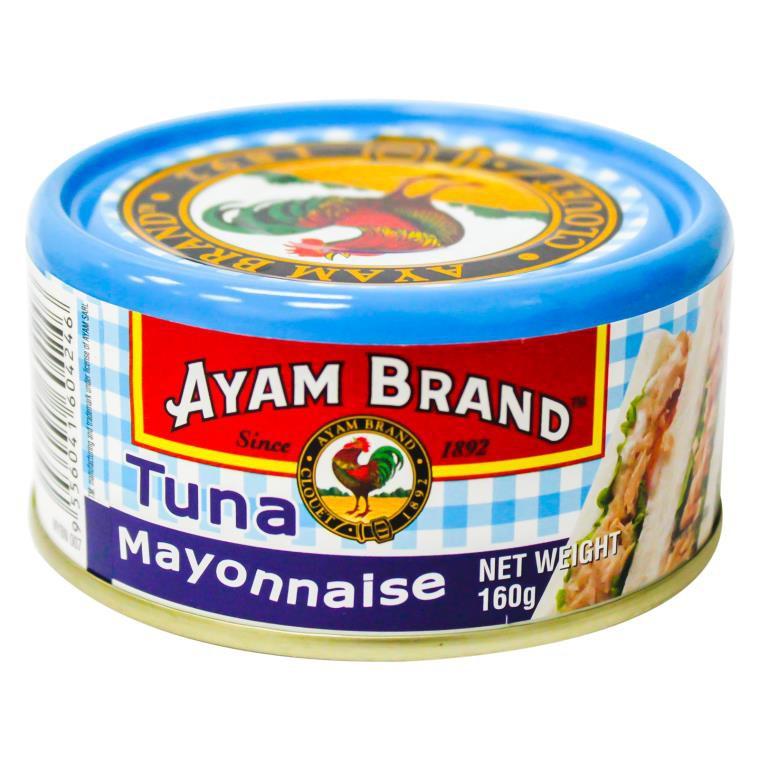 Ayam Brand Tuna Mayonnaise 160G 鸡标吞拿鱼