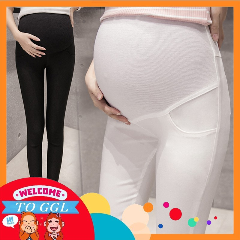 fdc48838bbb13 Maternity Pants for Pregnant Women High Waist Plus Size Women Maternity  Pants   Shopee Malaysia