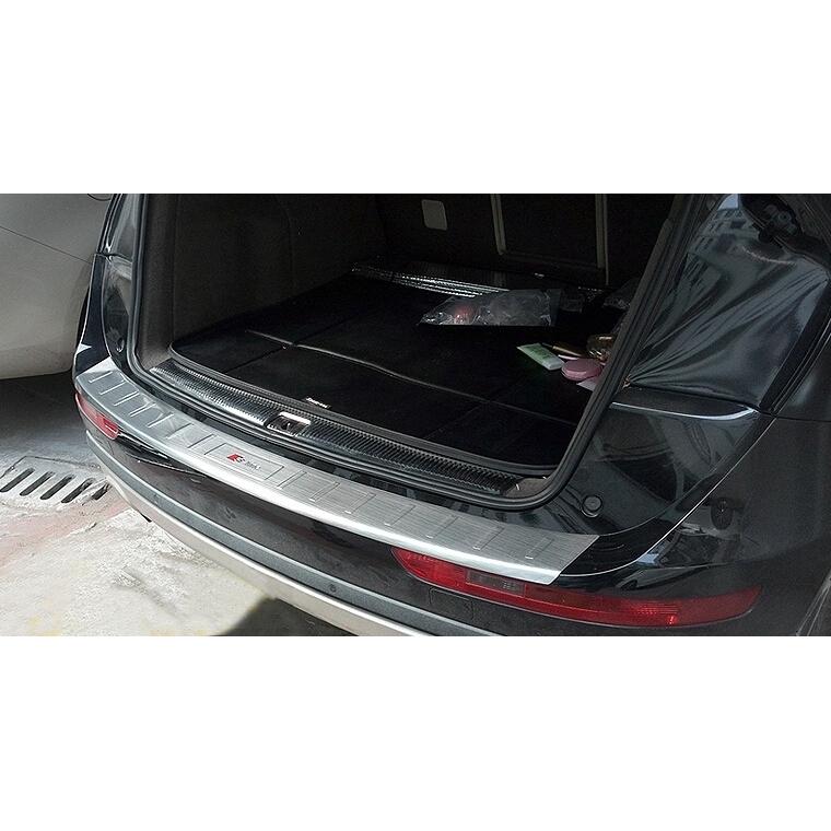Rear Door Bumper Skid Plate fit for AUDI Q5 2013-2016 Board Guard Bar Protect