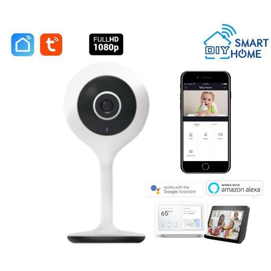 Smart DIY Wifi 1080 Camera (Tuya Smart Life)