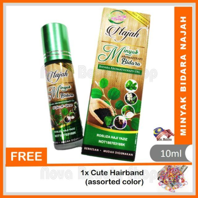 Minyak Bidara Najah dan Minyak Saffron Najeehah 10ml Najah Najeehah
