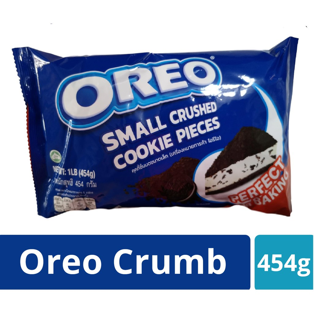 Oreo Crumb Small Crushed Cookie Pieces 454g - Retail & Wholesale New Stock Long Expiry!!!      orea crushed