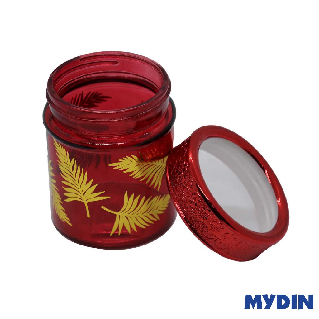 Myhome Glass Canister (350ml) RED M-350R #Raya