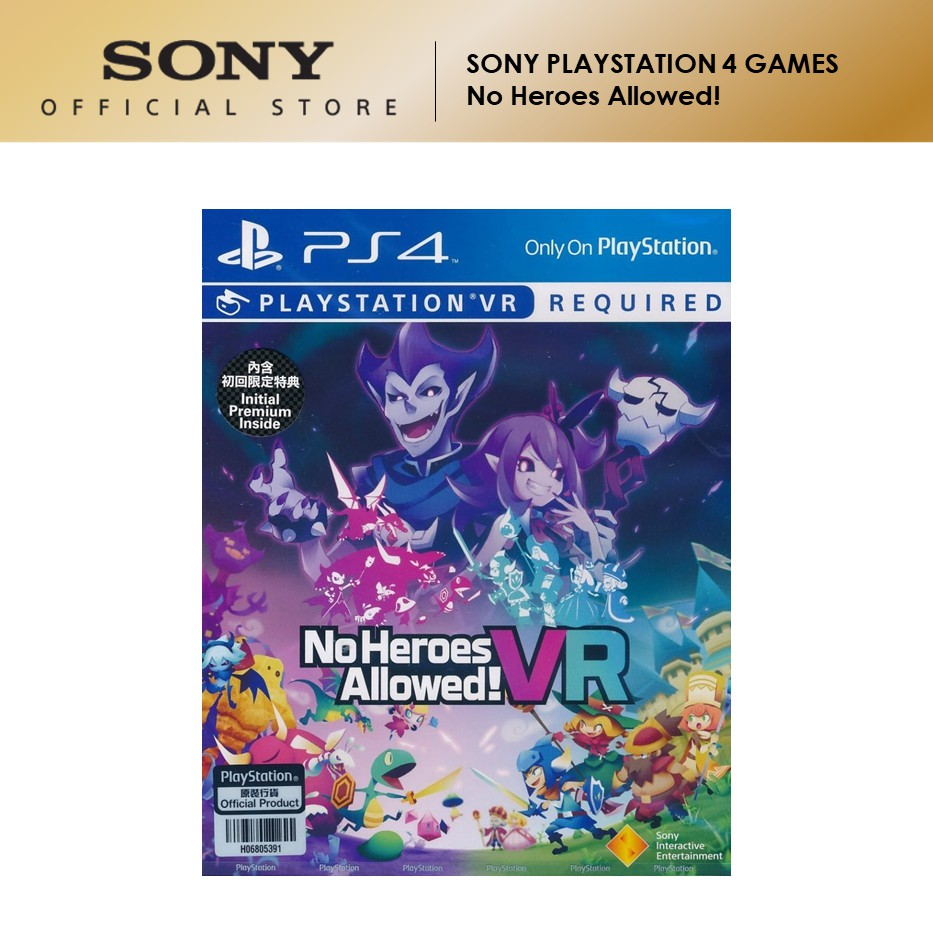 Sony PSVR Games No Heroes Allowed VR