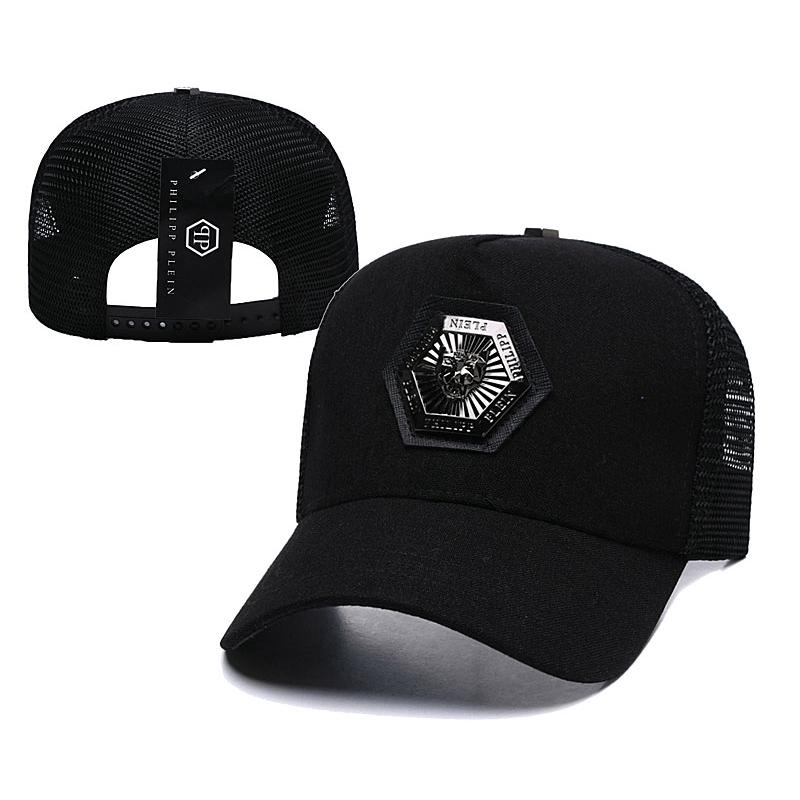 8803eb8e0 Newest Philipp Plein Hat Cap Badge Mesh Cap Sports Cap Snapback Hat Fashion  Cap Hip Hop Fitted Cap Cool Caps Hats