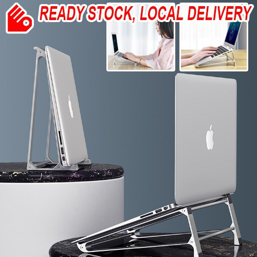 Portable Laptop Stand Vertical Storage Stand Support Desktop Lightweight Heavy Duty Universal