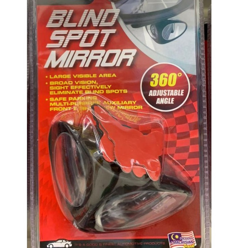 🔥BLIND SPOT & PARKING MIRROR🔥360 ADJUSTABLE ANGLECAR BLIND SPOT MIRROR 360 ROTATION ADJUSTABLE STICK-ON REAR VIEW