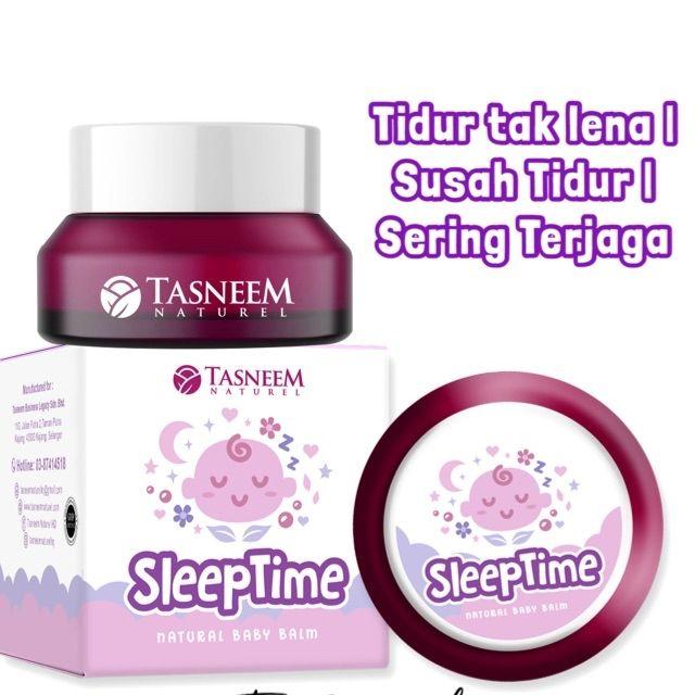 TASNEEM NATUREL SLEEP TIME BALM PAYAH TIDUR LENA