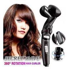 READY STOCK SHP] ALAT KERINTINGKAN RAMBUT / Secret Wave 3D Smart Hair Curler 360 Degree