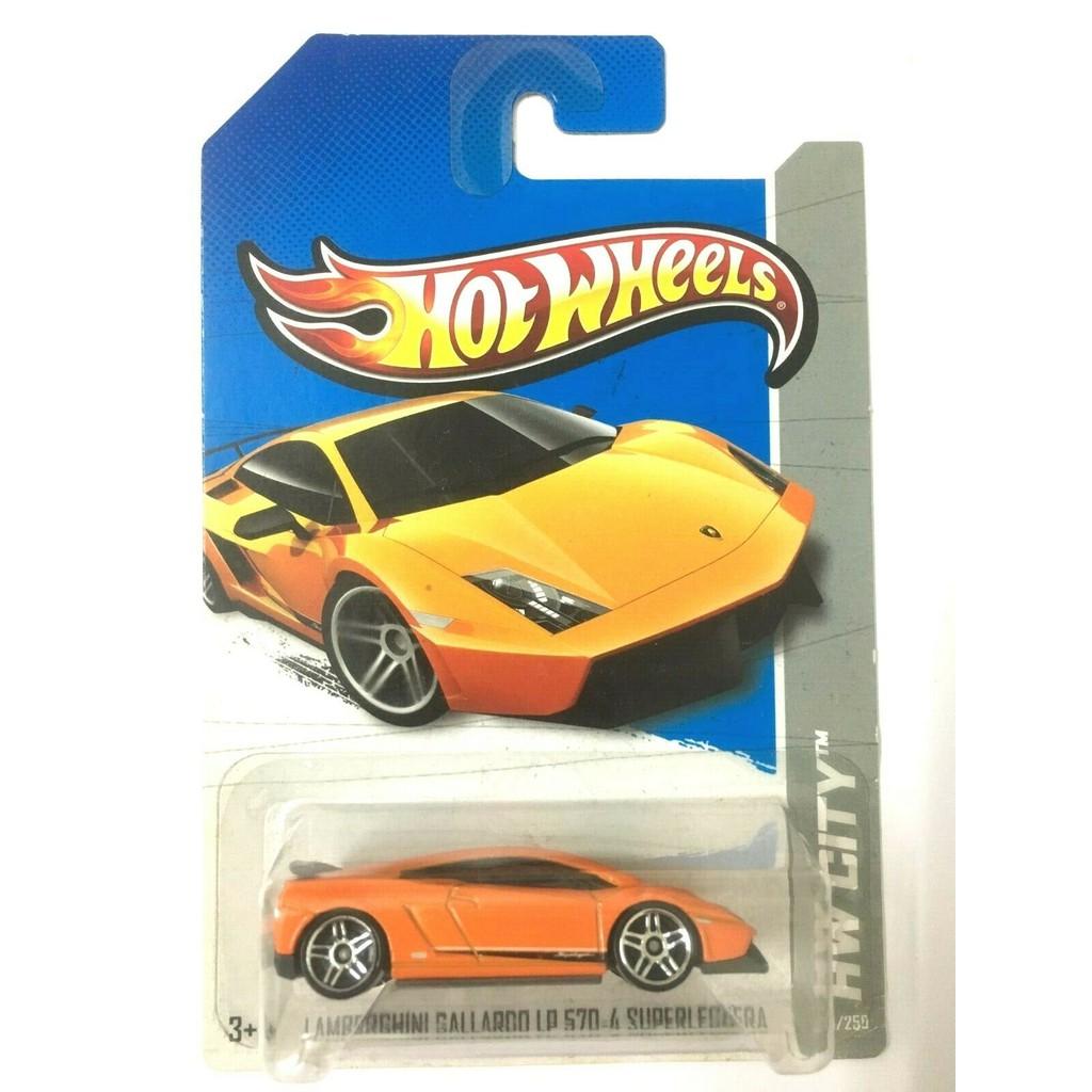 Hot Wheels 2013 028 250 Lamborghini Gallardo Lp 570 4 Superleggera Orange Mosc Shopee Malaysia