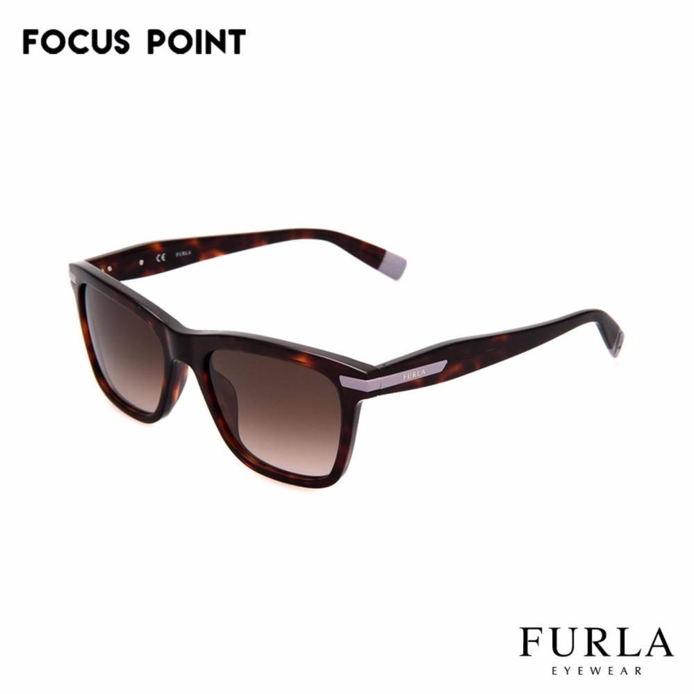 5aea85e4e1 Furla Sunglasses SFU045 - Havana Brown Gold