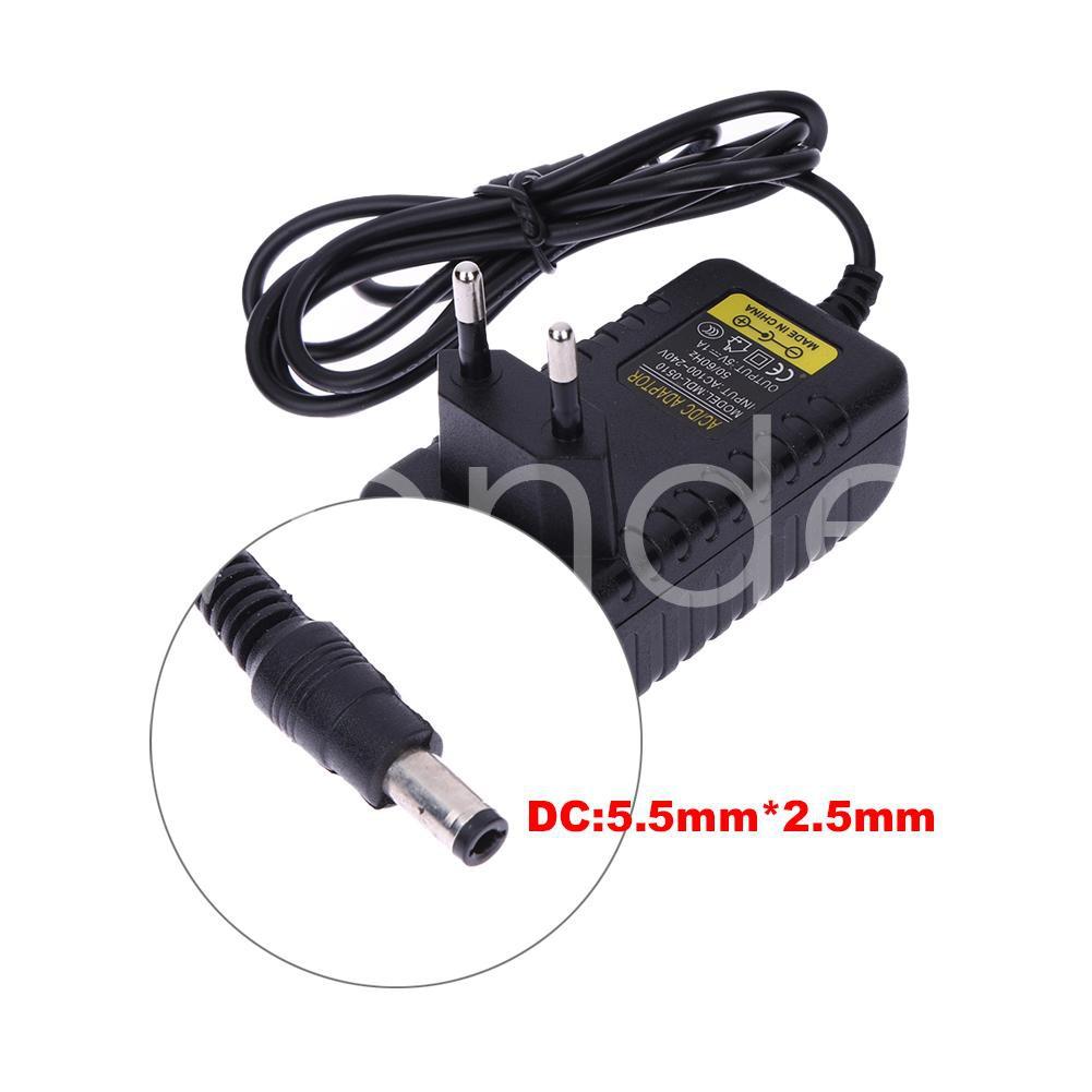 AC 100-240V Converter Adapter DC 5.5 x 2.5MM 12V 1A 1000mA Charger UK Plug #cz