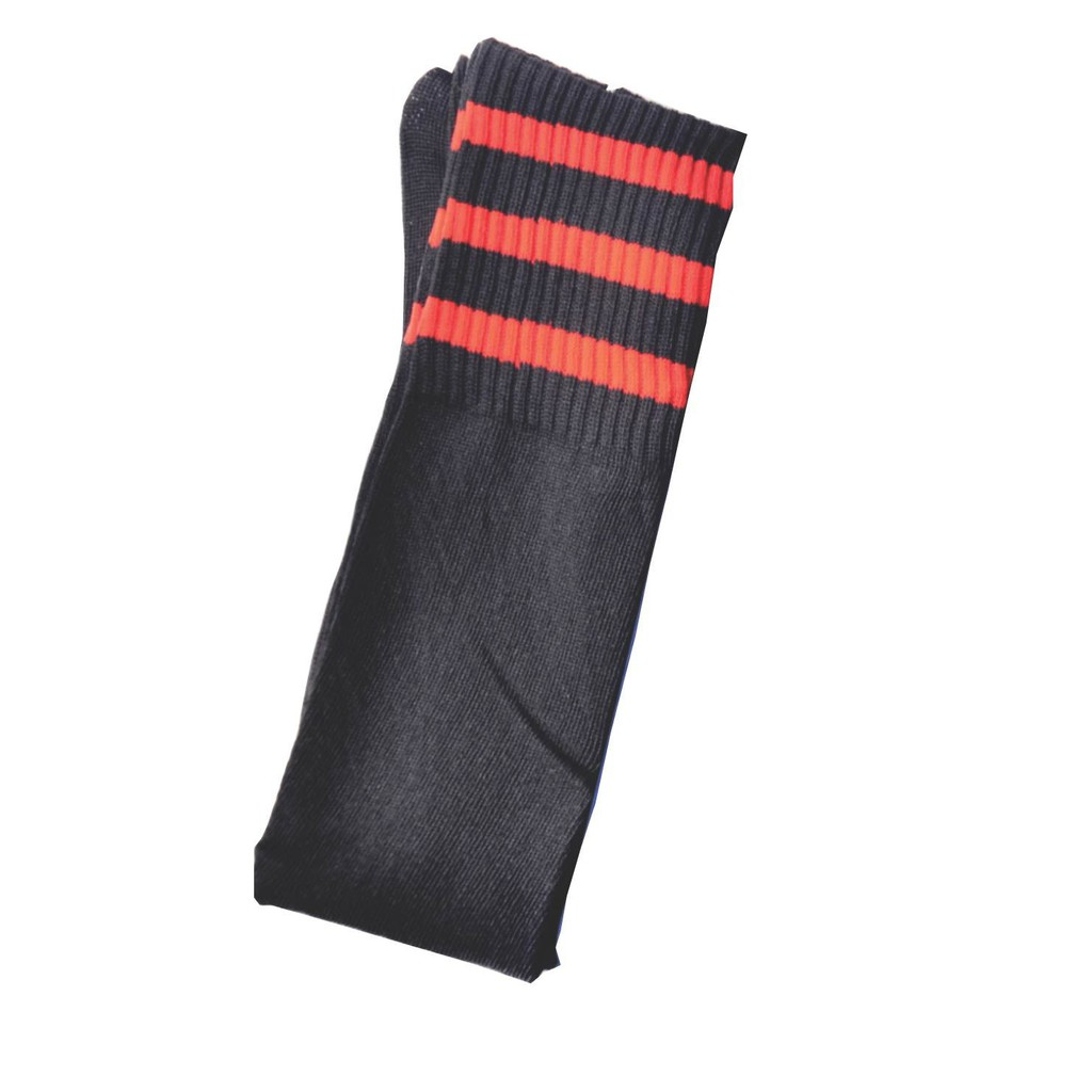 {Ready Stock} Unisex Sport Football Sock knee high stokin bola sepak - AssorteD