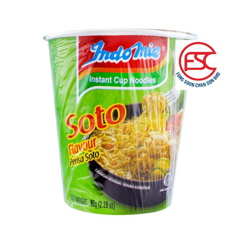 [FSC] Indomie Mi Soup Soto Cup Noodle 6cup x 65gm