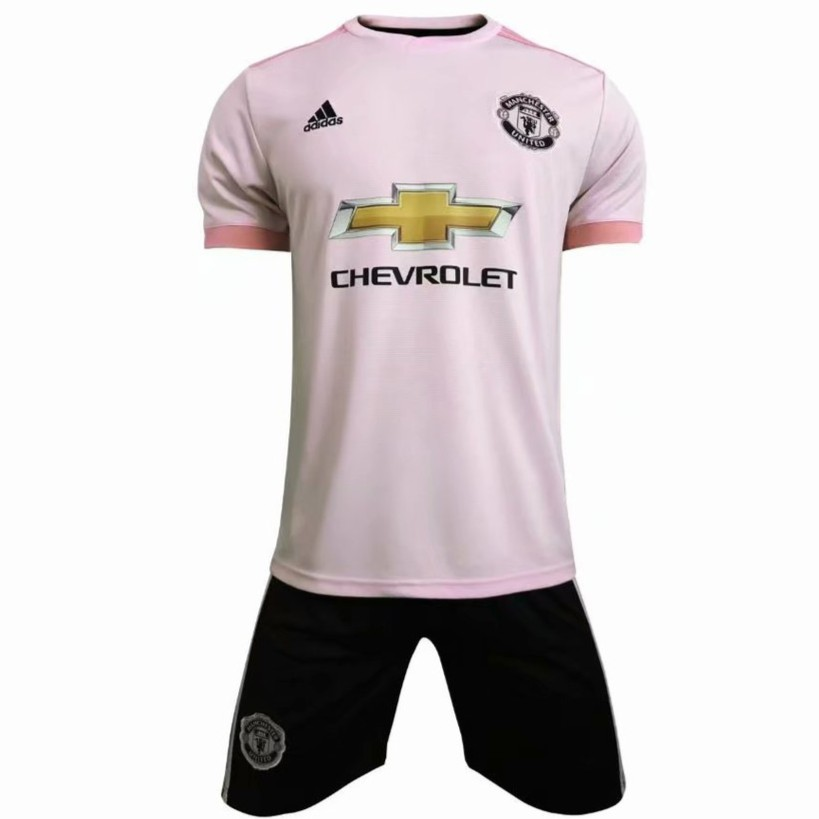 Manchester United Away Pink Football Jersey Fan Issues With Pants Mu Man Utd Shopee Malaysia