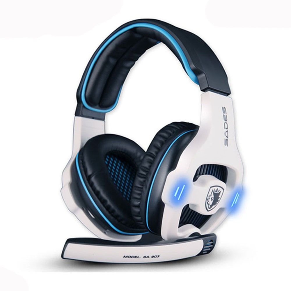 58ad349ac20 Sades R1 USB 7.1 Surround Stereo Sound Vibration Gaming Headphone With Mic