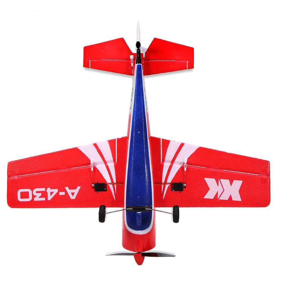 Great Discount XK A430 2.4G 5CH Brushless Motor 3D6G System RC Airplane 430mm Wingspan EPS Aircraft Compatible Futaba S