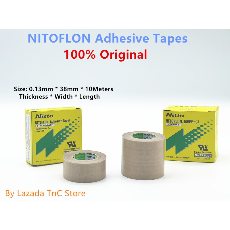 38mm Width PTFE Tape High Temperature Resistant Single-side Adhesive Tape