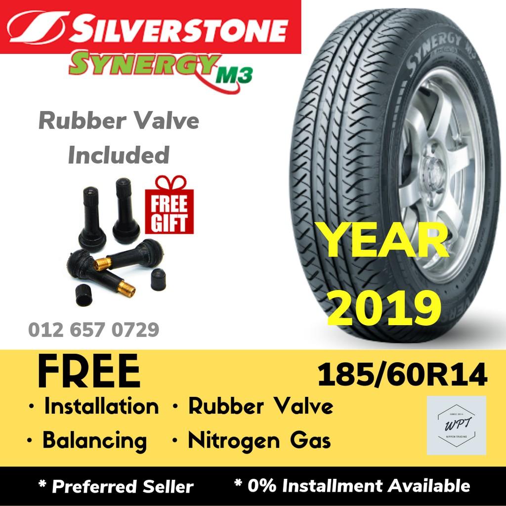 185 60R14 Tires >> 185 60r14 Silverstone Synergy M3 Installation New Car Tyre Tayar Tires Rim 14