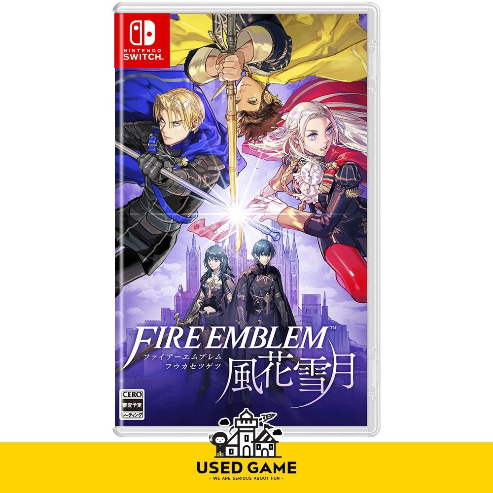 [PRE-ORDER] Nintendo Switch Fire Emblem: Three Houses [As/中文版] [ETA:  26 07 19]