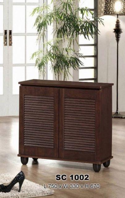 2 Doors Shoe Cabinet / RAK Kasut / Almari kasut 2 pintu / 2 door shoes cabinet / DIY