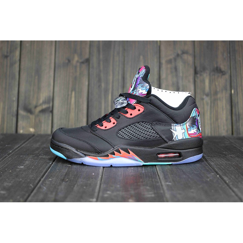 huge selection of f9c19 fc279 Nike Men's high top Women's Basketball Shoes Air Jordan 5 Low China  840475-060