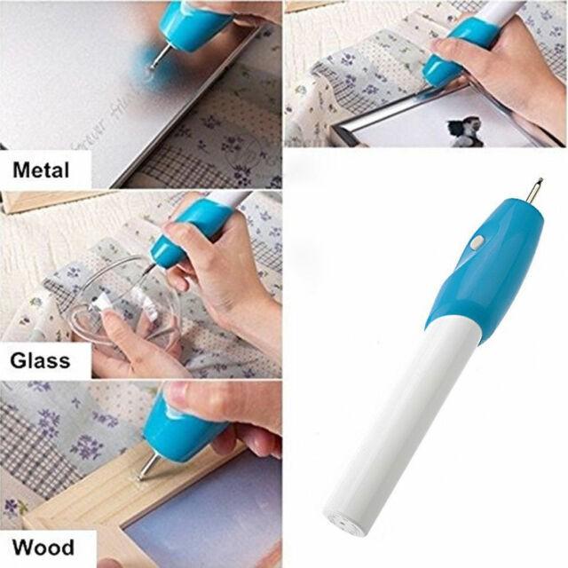 MALAYSIA SHP: PEN UKIR NAMA DI KAYU / UKIRAN GUNA PEN / Engrave It Pen Electronic Pen For Metal, Wood, Glass & Plastic