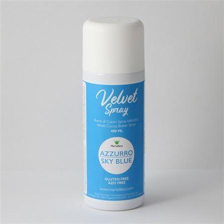 MARTELLATO, Velvet Spray, Sky Blue, 400 ml (Delivery To Peninsular Malaysia ONLY)